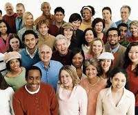 Multi-ethnic, age photo