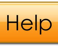 Resource guide, orange help button